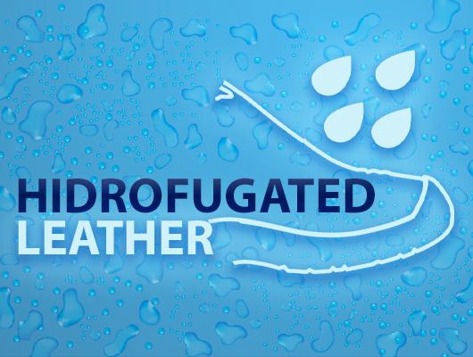 Tecnologias safetline - couro hidrofugado